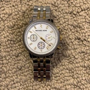 Two-toned Michael Kors Watch